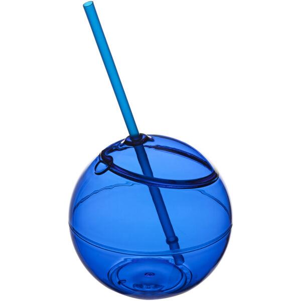 Fiesta 580 ml beverage ball with straw (10034000)