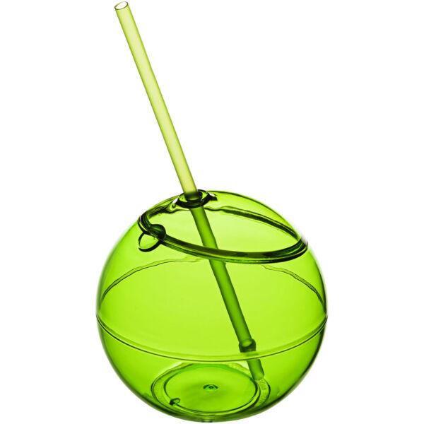 Fiesta 580 ml beverage ball with straw (10034002)