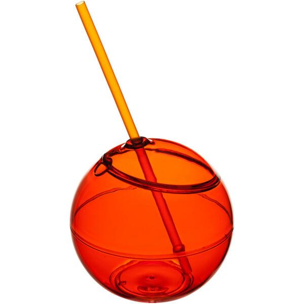 Fiesta 580 ml beverage ball with straw (10034003)