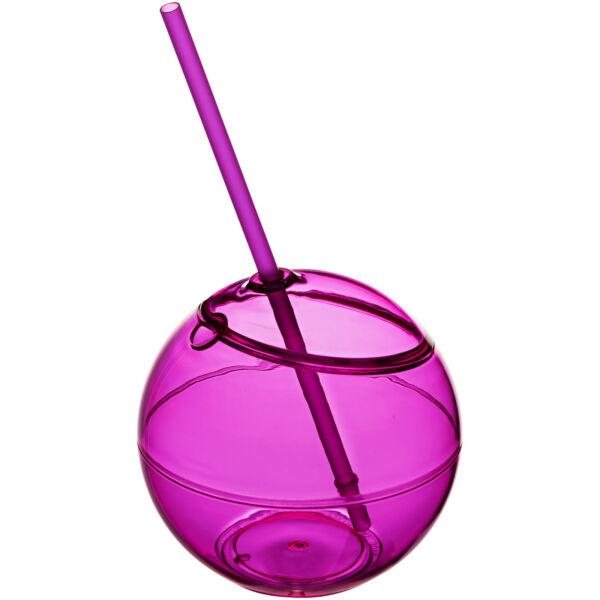 Fiesta 580 ml beverage ball with straw (10034004)