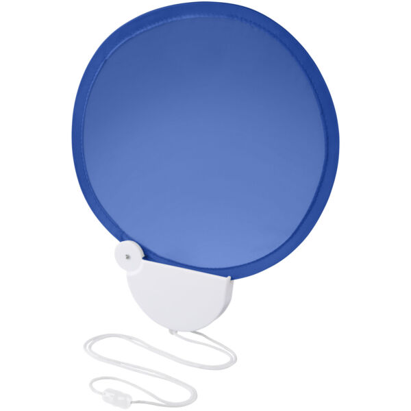 Breeze foldable hand fan with cord (10050401)