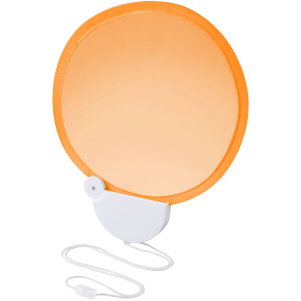 Breeze foldable hand fan with cord (10050404)