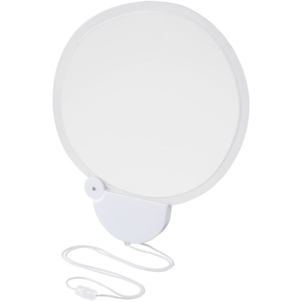 Breeze foldable hand fan with cord (10050405)