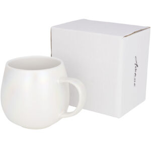 Glitz 420 ml iridescent ceramic mug (10054100)