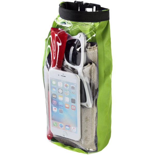Tourist 2 litre waterproof bag with phone pouch (10055304)