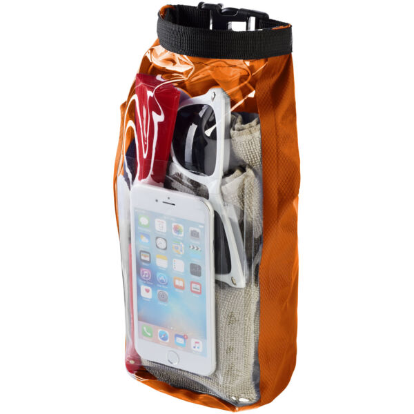 Tourist 2 litre waterproof bag with phone pouch (10055305)