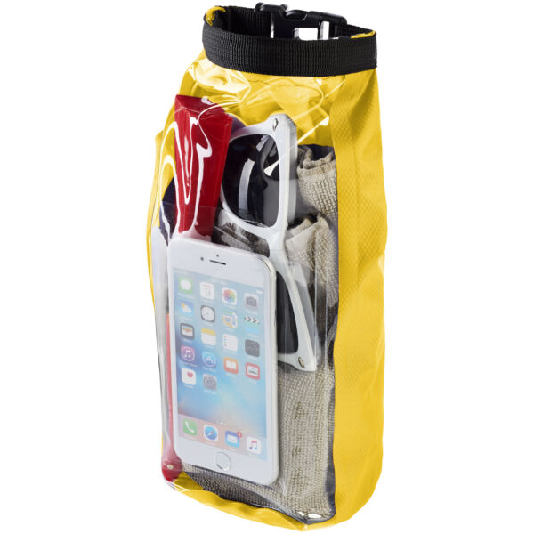 Tourist 2 litre waterproof bag with phone pouch (10055306)