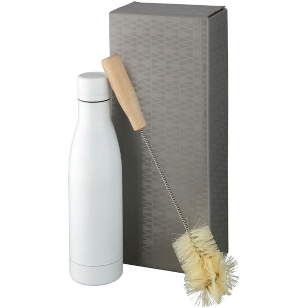 Vasa copper vacuum insulated bottle with brush set (10061401)