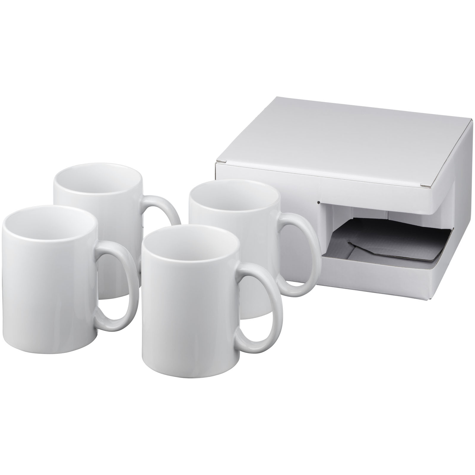 Ceramic mug 4-pieces gift set (10062700)