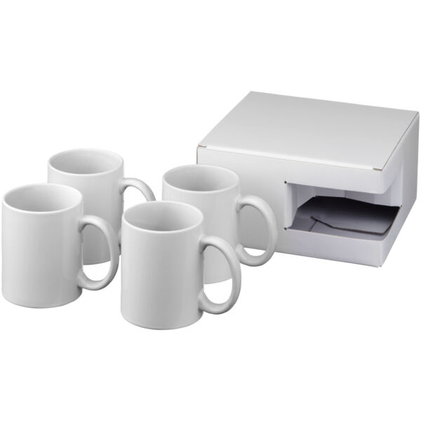 Ceramic sublimation mug 4-pieces gift set (10062800)