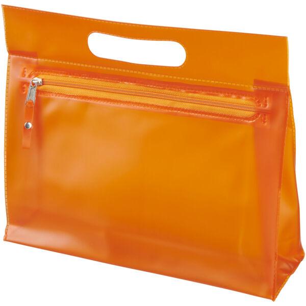 Paulo transparent PVC toiletry bag (10248604)