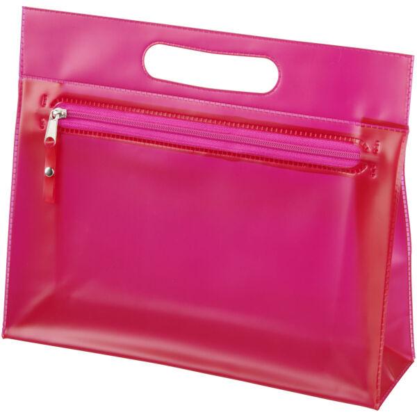 Paulo transparent PVC toiletry bag (10248605)
