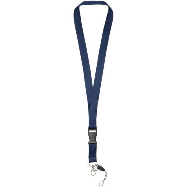 Sagan phone holder lanyard with detachable buckle (10250803)