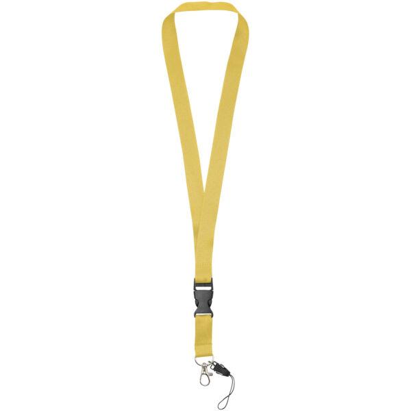 Sagan phone holder lanyard with detachable buckle (10250807)