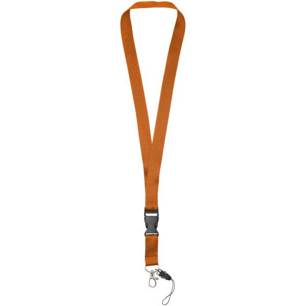 Sagan phone holder lanyard with detachable buckle (10250808)