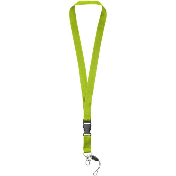 Sagan phone holder lanyard with detachable buckle (10250809)