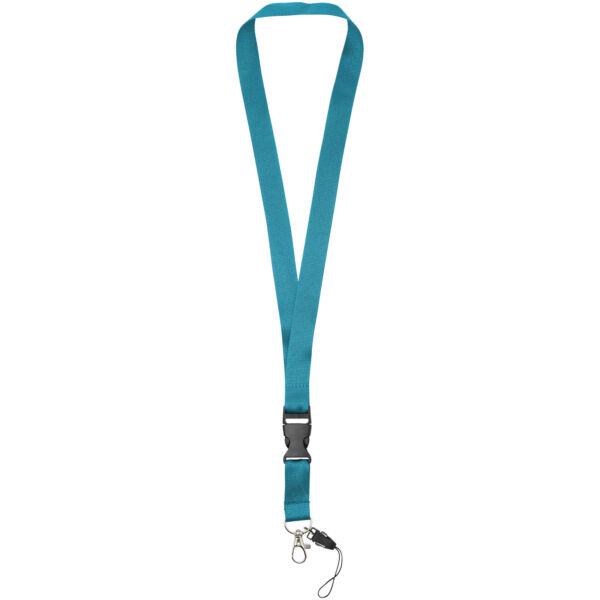 Sagan phone holder lanyard with detachable buckle (10250810)