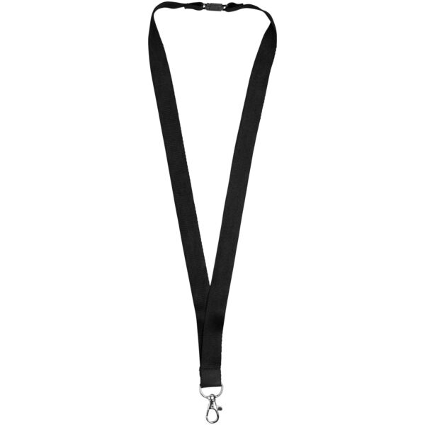 Julian bamboo lanyard with safety clip (10251101)