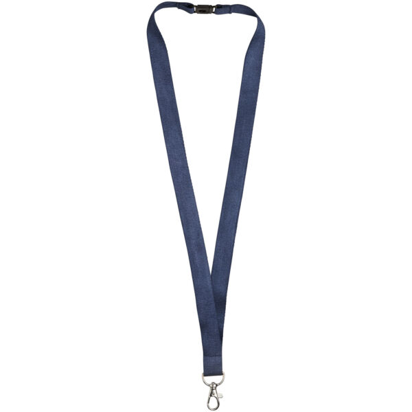 Julian bamboo lanyard with safety clip (10251103)