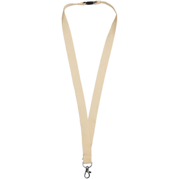 Dylan cotton lanyard with safety clip (10251200)