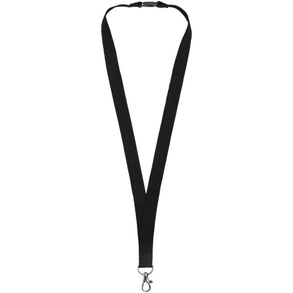 Dylan cotton lanyard with safety clip (10251201)