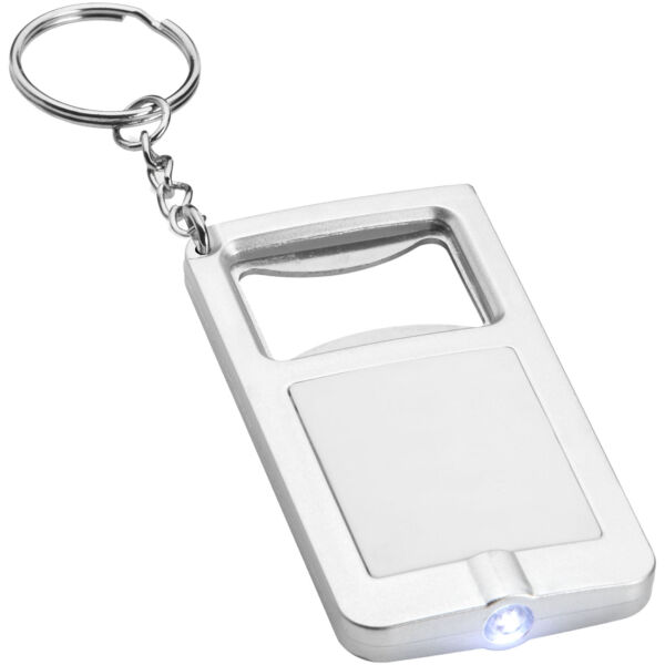 Orcus LED keychain light and bottle opener (10416200)