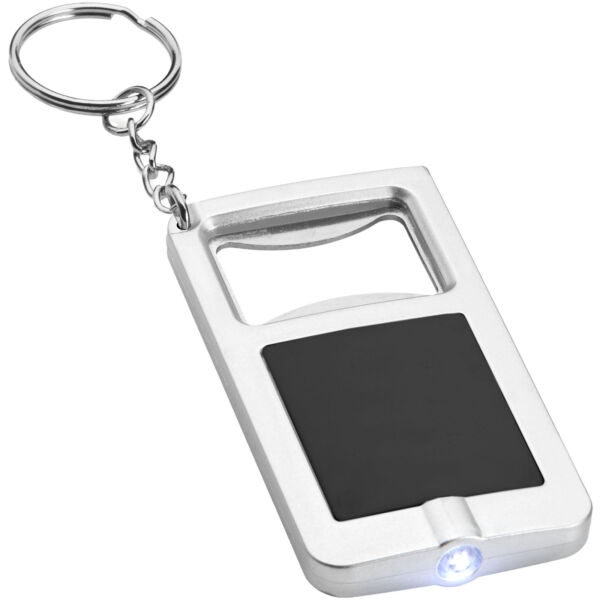 Orcus LED keychain light and bottle opener (10416201)