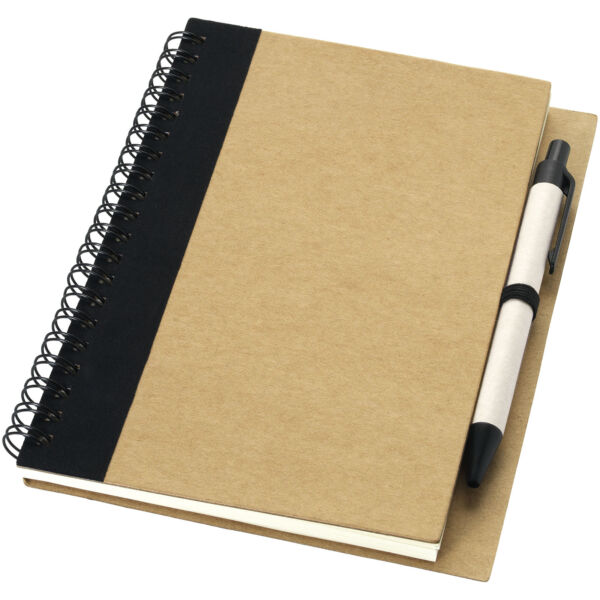 Priestly recycled notebook with pen (10626801)