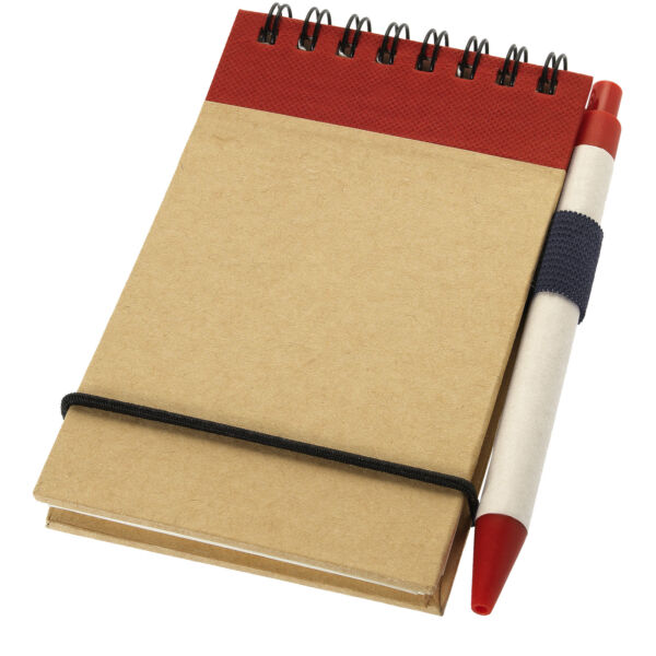 Zuse A7 recycled jotter notepad with pen (10626900)