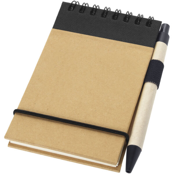 Zuse A7 recycled jotter notepad with pen (10626901)