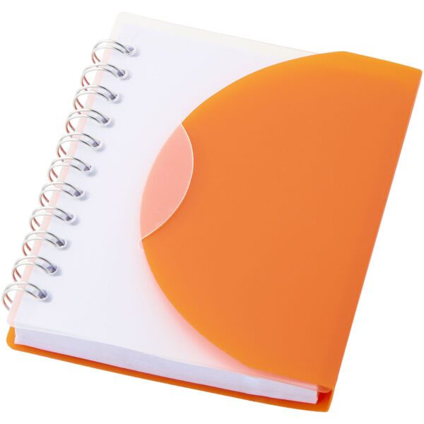 Post A7 spiral notebook with blank pages (10638704)