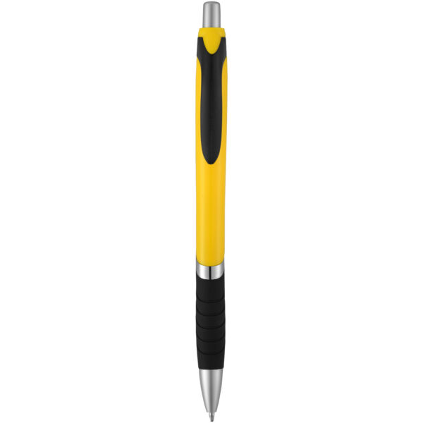 Turbo ballpoint pen with rubber grip (10671304)