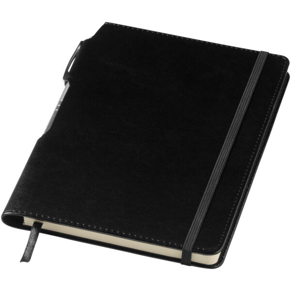 Panama A5 hard cover notebook with pen (10679600)