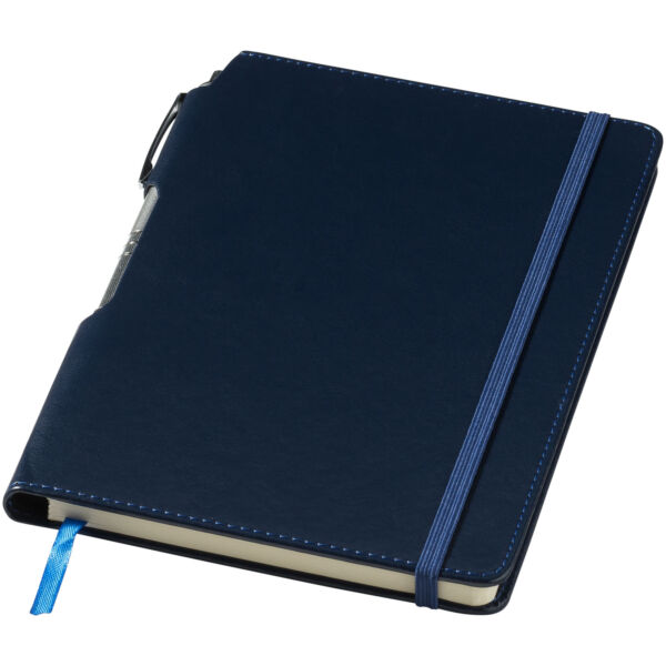 Panama A5 hard cover notebook with pen (10679601)