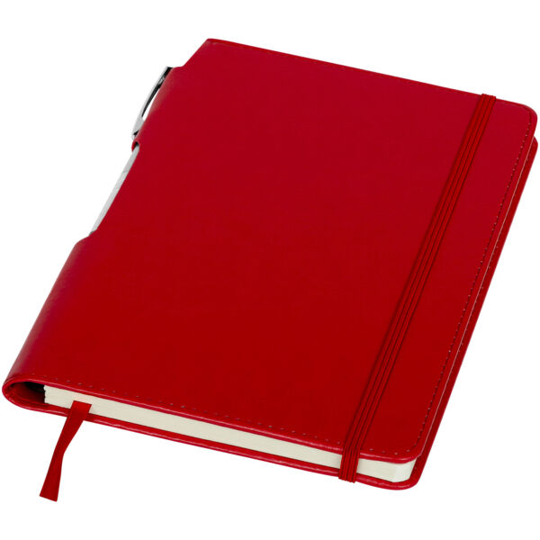 Panama A5 hard cover notebook with pen (10679602)