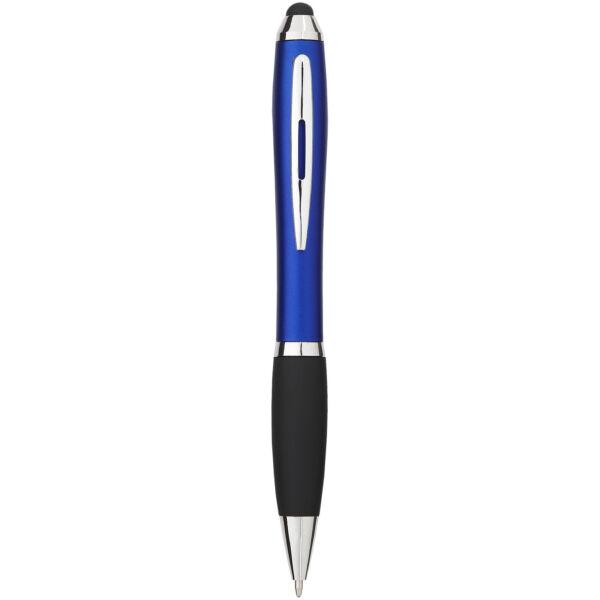 Nash coloured stylus ballpoint pen with black grip (10690302)