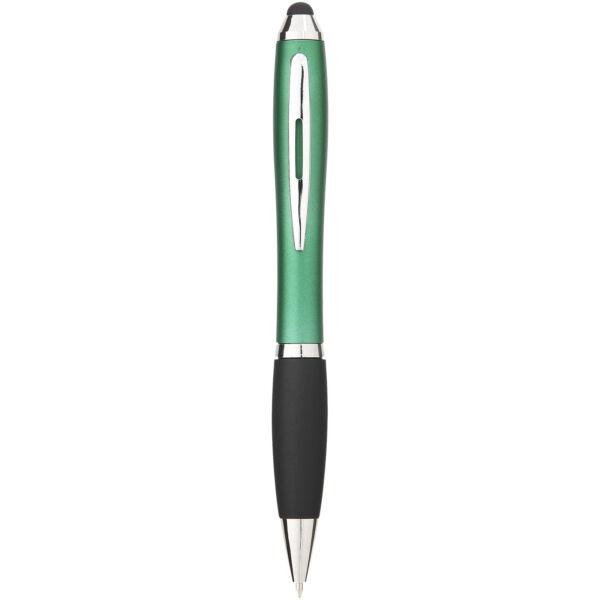 Nash coloured stylus ballpoint pen with black grip (10690304)