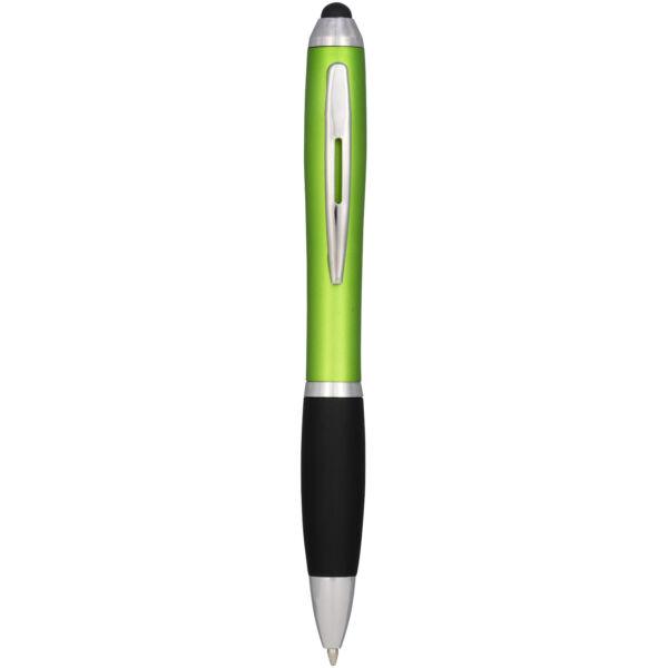 Nash coloured stylus ballpoint pen with black grip (10690306)