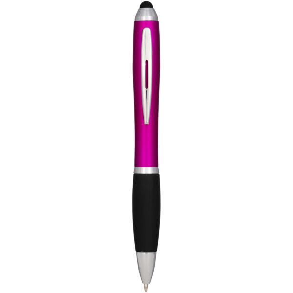 Nash coloured stylus ballpoint pen with black grip (10690307)