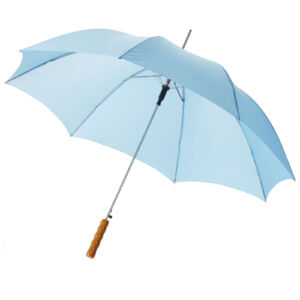 "Lisa 23"" auto open umbrella with wooden handle (10901702)"