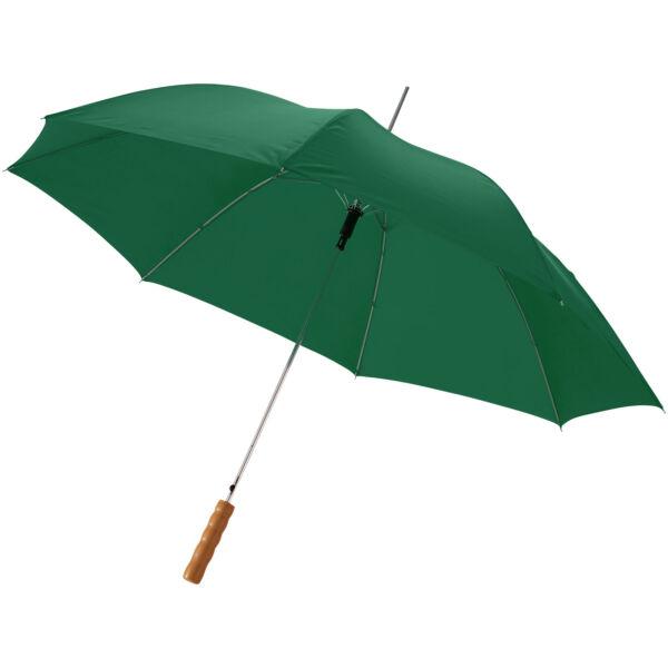 "Lisa 23"" auto open umbrella with wooden handle (10901707)"
