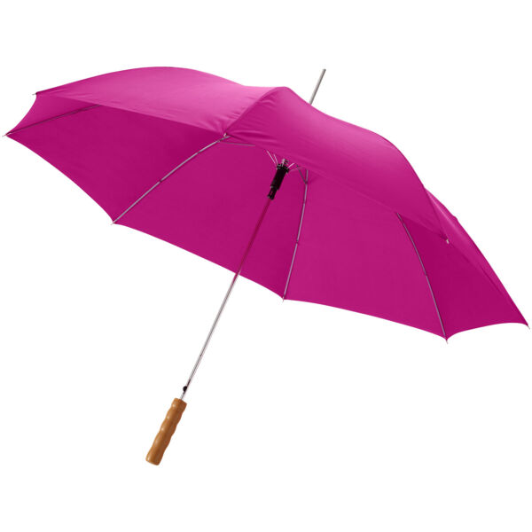 "Lisa 23"" auto open umbrella with wooden handle (10901708)"