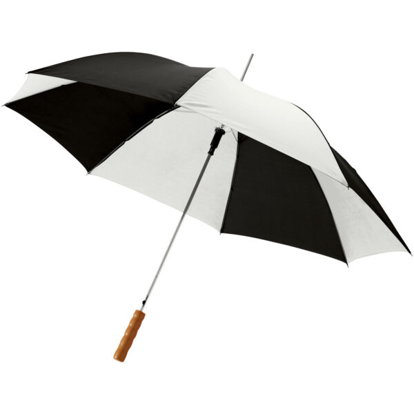 "Lisa 23"" auto open umbrella with wooden handle (10901710)"