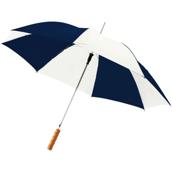 "Lisa 23"" auto open umbrella with wooden handle (10901711)"