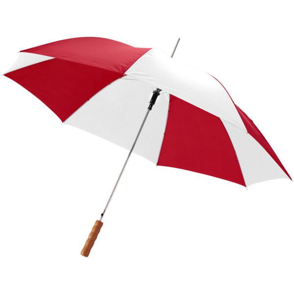 "Lisa 23"" auto open umbrella with wooden handle (10901712)"