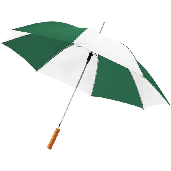 "Lisa 23"" auto open umbrella with wooden handle (10901713)"