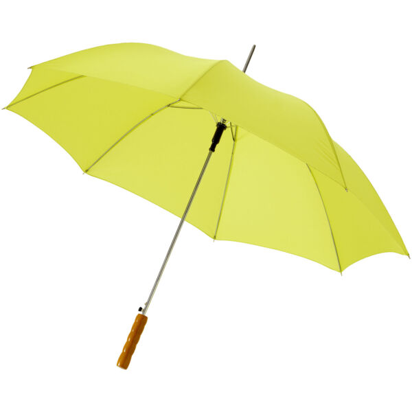 "Lisa 23"" auto open umbrella with wooden handle (10901714)"