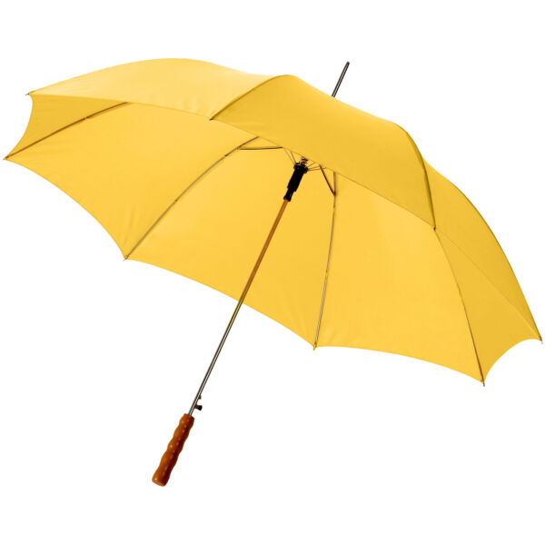 "Lisa 23"" auto open umbrella with wooden handle (10901716)"