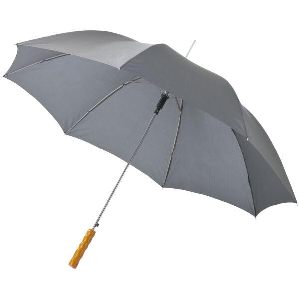 "Lisa 23"" auto open umbrella with wooden handle (10901717)"
