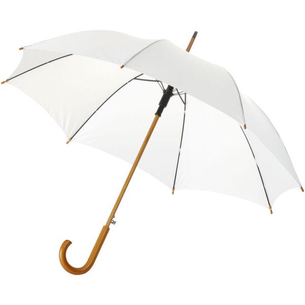 "Kyle 23"" auto open umbrella wooden shaft and handle (10904802)"